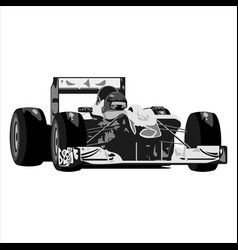 racing sports car vector image