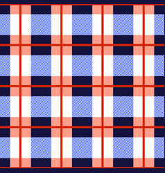 tartan plaid seamless pattern checkered tartan vector image