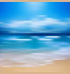 tropical horizon abstract background vector image
