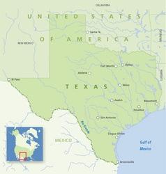 USA Texas vector