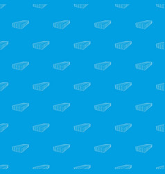 Wooden boards pattern seamless blue vector