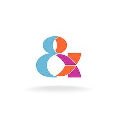 Ampersand logo vector