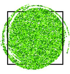 Festive green background vector