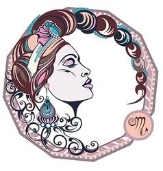 Zodiac signs Scorpio vector image