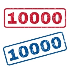 10000 Rubber Stamps vector