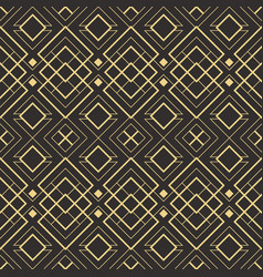 abstract art deco seamless pattern 10 vector image
