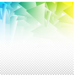 Abstract background with geometric elements vector