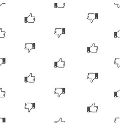 Dislike like background vector