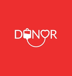donor 02 vector image