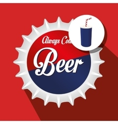 drink lid design vector image