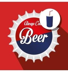 drink lid design vector image