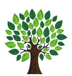 Eco friendly concept Tree vector image