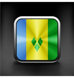 Flag of Saint Vincent and the Grenadines vector image