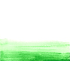 Green paint bottom vector
