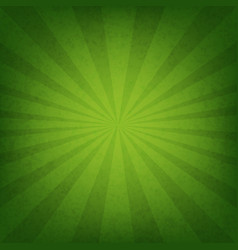 Green sunburst wallpaper vector