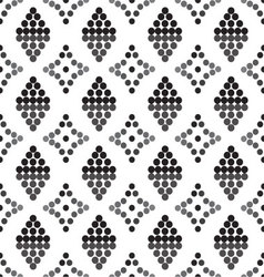 Ornament seamless black vector