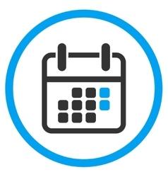 Syllabus Weekend Circled Icon vector