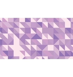 Abstract violet lowploly of many triangles vector image
