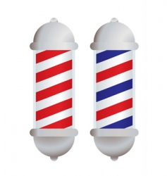 Barbers pole vector