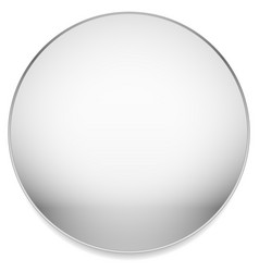 empty blank circle with stone like material vector image