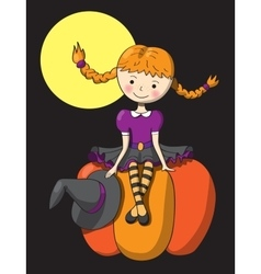 Picture for Halloween vector image