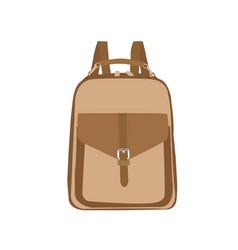School knapsack vector