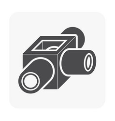 sewer pipe icon vector image