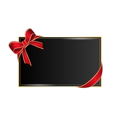 Card with place for your text vector image vector image