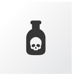 Poison icon symbol premium quality isolated vector