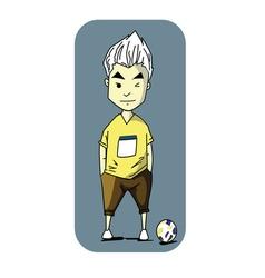 man football vector image vector image