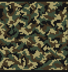 camouflage pattern digital camouflage seamless vector image