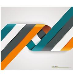 Modern spiral options banner vector image vector image