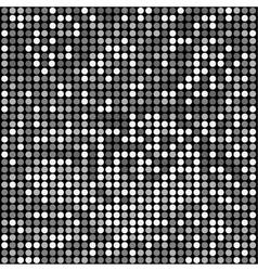 disco black background vector image vector image