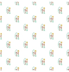 Hookah pattern cartoon style vector image vector image