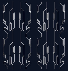 abstract technological high tech style pattern vector image