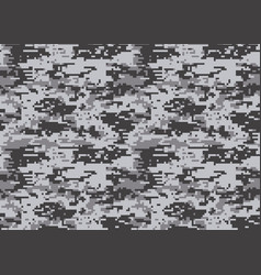Digital camouflage pattern woodland camo texture vector