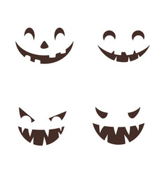 happy halloween icon vector image