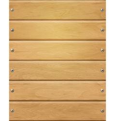 Natural wood Texture beige boards vector
