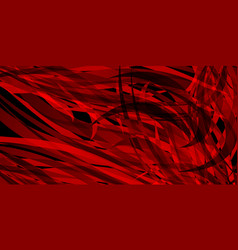 red background of flowing bloody lines vector image