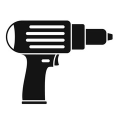 Screwdriver icon simple style vector