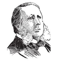 William wetmore story vintage vector