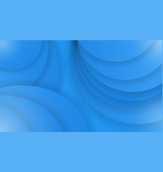 Abstract background of blue color curved lines vector