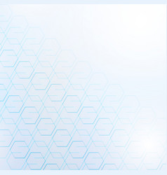 Abstract blue technology geometric corporate vector