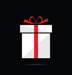 gift box color vector image