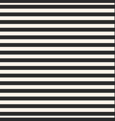 horizontal stripes seamless black pattern vector image