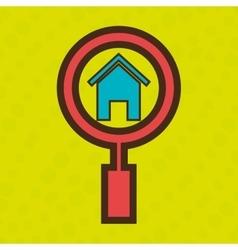 symbol homepage web vector image