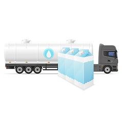 truck semi trailer concept 06 vector image