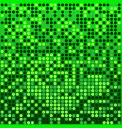 disco green background vector image