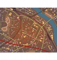 city center vector image vector image