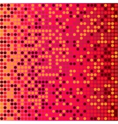 disco red background vector image vector image